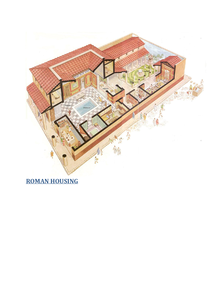 Preview of Roman Housing