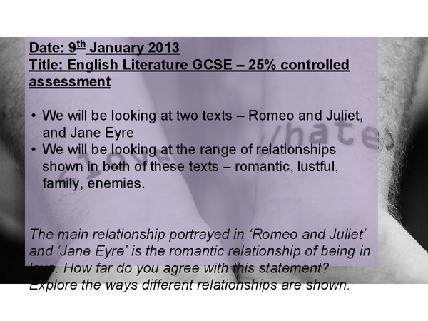 Preview of Romeo and Juliet - Prologue