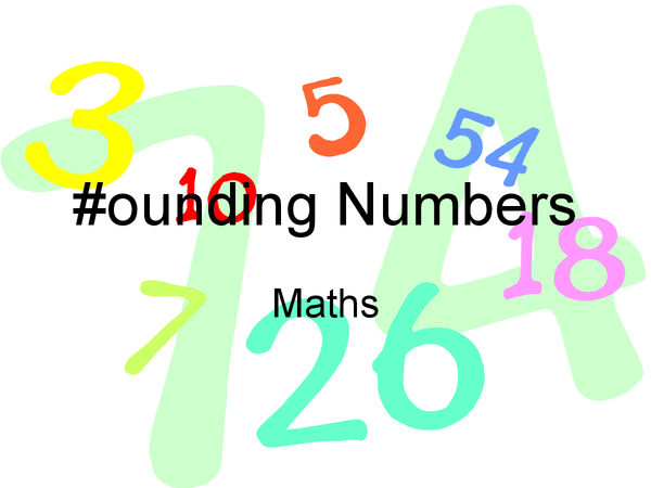 Preview of Rounding numbers