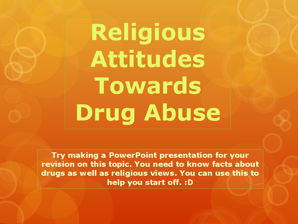 Preview of RS DRUG ABUSE POWERPOINT