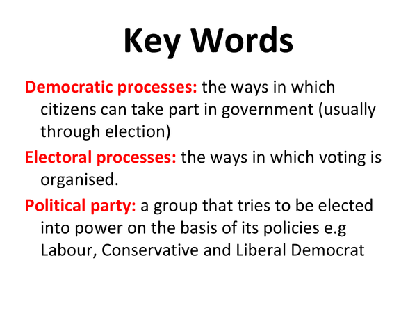 Preview of RS Unit 8 1.8 Democracy Powerpoint