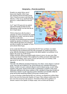 Preview of rwandan forced migration