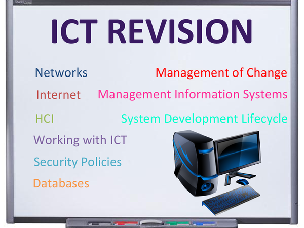 Preview of Sample answers for all questions on all topics asked by WJEC for ICT A2 Exams