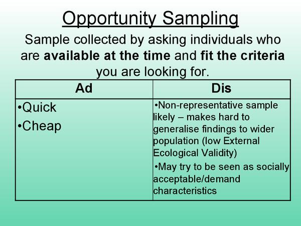 Preview of Sampling Methods