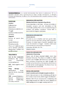 Preview of Schizophrenia Approaches Poster/Table