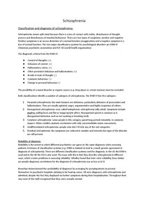 Preview of Schizophrenia revision guide