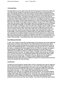 Preview of Schools History Project - American West Notes
