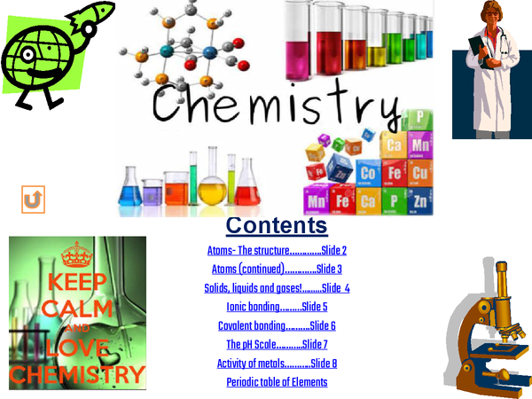 Preview of Science- Chemistry powerpoint