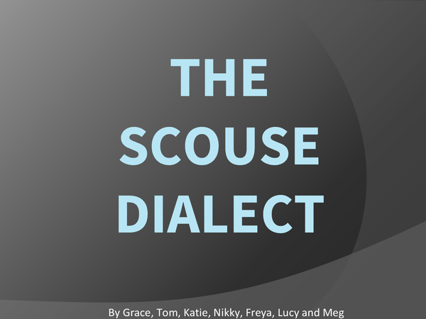 Preview of Scouse Dialect