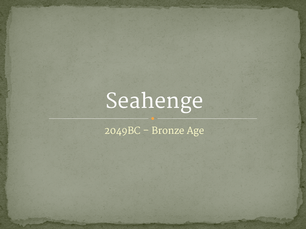 Preview of Seahenge