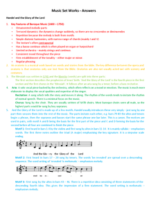 Preview of Edexcel - Music GCSE - Set Works