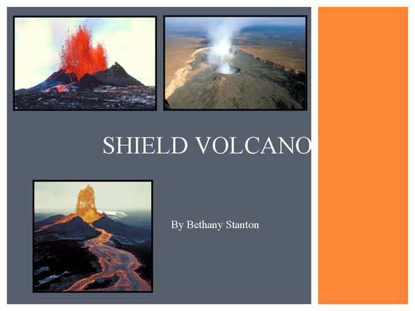 Preview of Shield Volcano