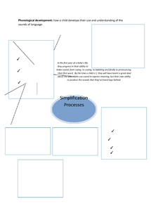 Preview of Simplification Processes