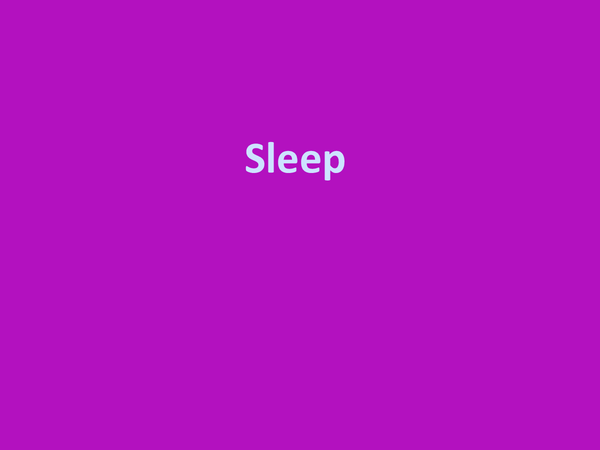 Preview of Sleep
