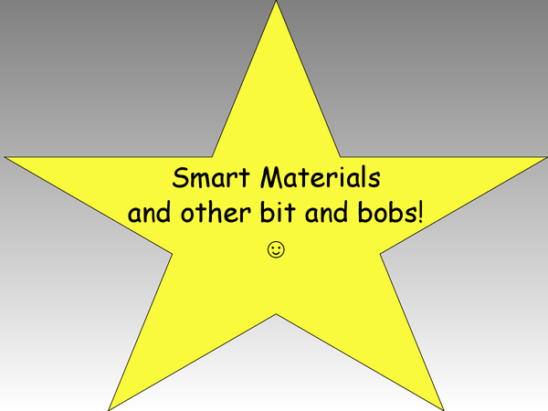 Preview of smart materials