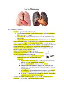 Preview of Smoking and Lung Disease