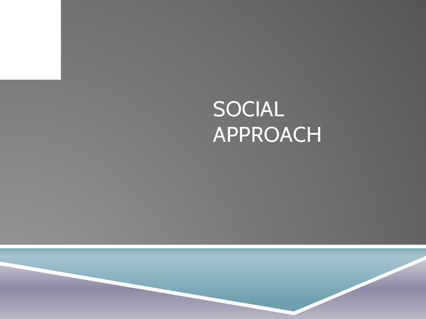 Preview of Social Approach