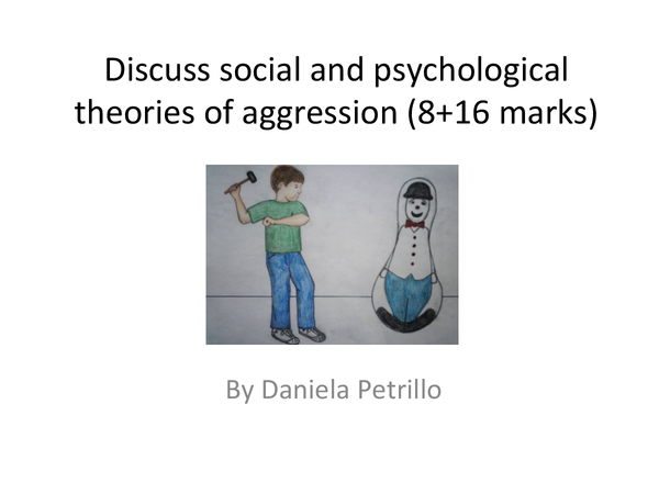 Preview of Social learning theory and Deindividuation.