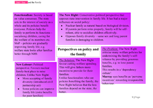 Preview of Social Policy and the Family - Unit 1 (Topic 6) AS AQA SOCIOLOGY
