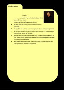 Preview of Socialism Key Profiles: Robert Owen