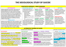 Preview of sociological study of suicide