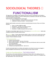 Preview of Sociological theories