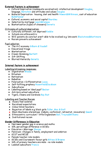 Preview of Sociology Education Checklist SCLY2