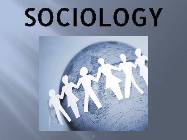 Preview of Sociology as a Science