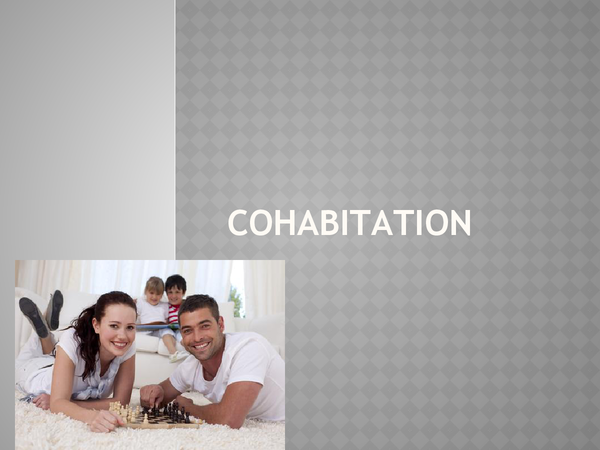 Preview of Sociology Unit 1 AS Cohabition