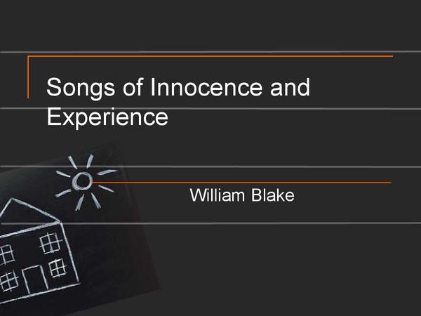 Preview of Songs of Innocence and Experience