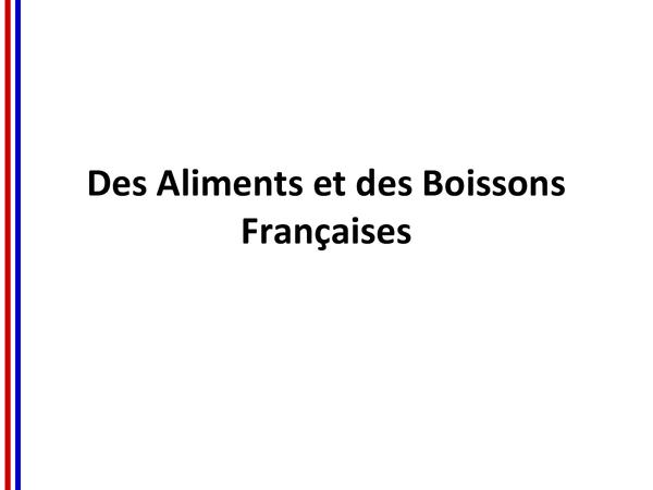 Preview of Southern French Food & Drink: Des Aliments et des Boissons Françaises dans le Sud