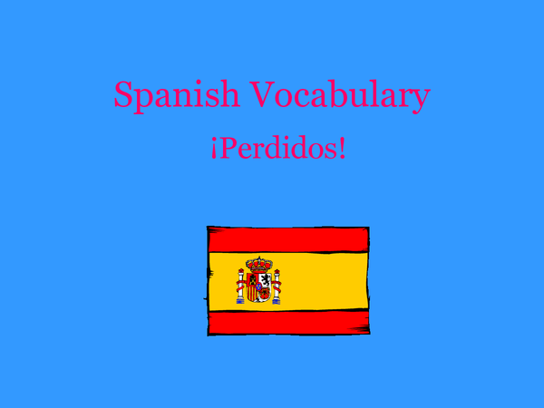 Preview of Spanish Vocabulary- Me and My Family