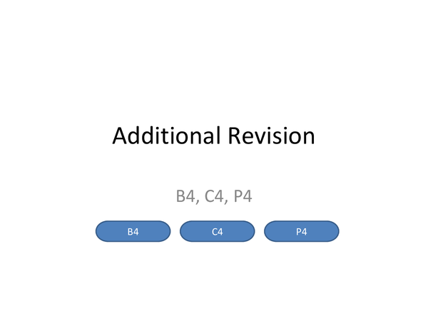 Preview of Specification for B4, C4 and P4 in Additonal Science (OCR21stC)