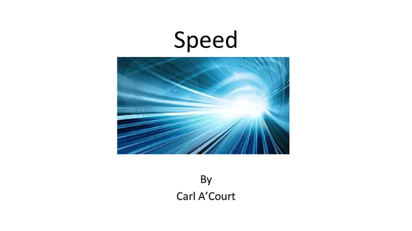 Preview of Speed