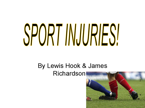 Preview of Sports injuries