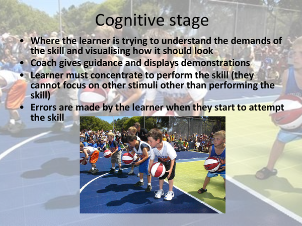 Preview of Stages of learning