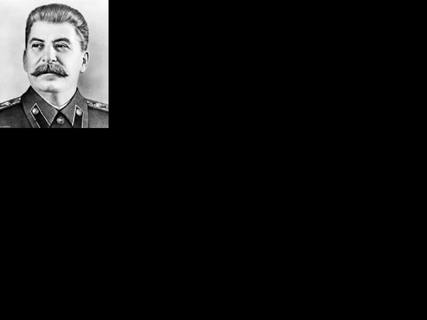 Preview of Stalin Presentation AS history
