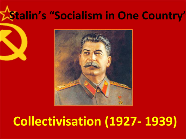 Preview of Stalin's Collectivisation