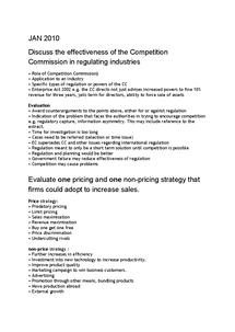 Preview of Standard answers unit 3 economics