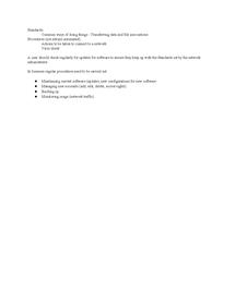 Preview of Standardsand Procedures