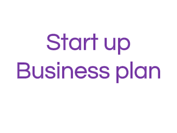 Preview of start up business plans