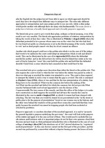 Preview of statutory interpretaion 1.5 ESSAY
