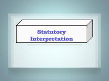 Preview of Statutory Interpretation