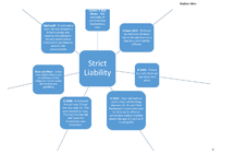 Preview of Strict Liability Key Cases A2 Law OCR G153