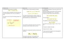 Preview of Strong Acid, Weak Base, Weak Acid - Equations