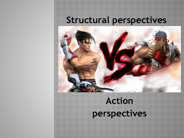 Preview of Structural and Action Perspectives