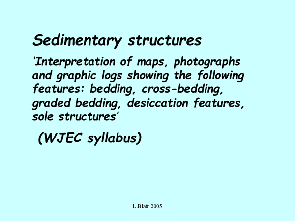 Preview of structures sedimrty