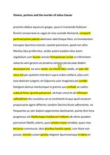 Preview of Suetonius notes