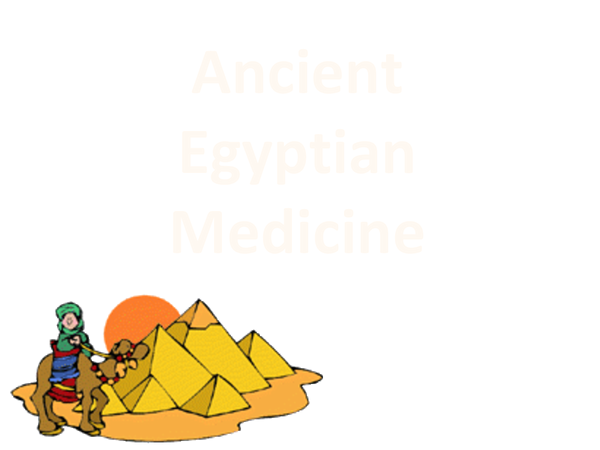 Preview of Summary of Ancient Egyptian Medicine