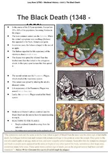 essay on The Black Death